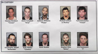 23 white supremacist gang members indicted