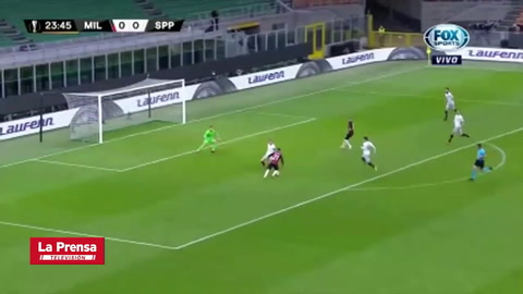 AC Milan 3-0 Sparta Praga (Europa League)