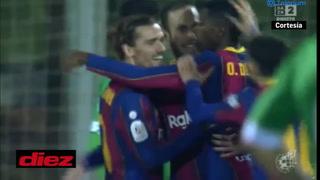 Barcelona está venciendo al Cornella gracias a un golazo de Dembélé