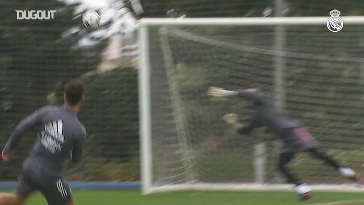 El Real Madrid sigue preparando el partido contra el Betis