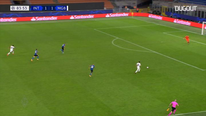 Neuhaus' incredible Champions League assist vs Inter