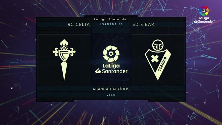 LaLiga Santander (Jornada 20): Celta 1-1 Eibar