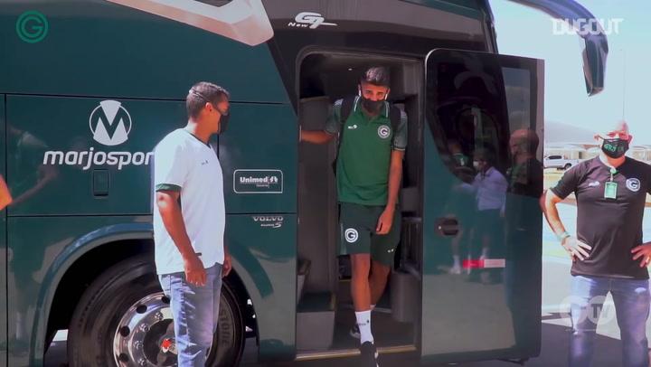 Goiás travel to Curitiba to face Athletico-PR