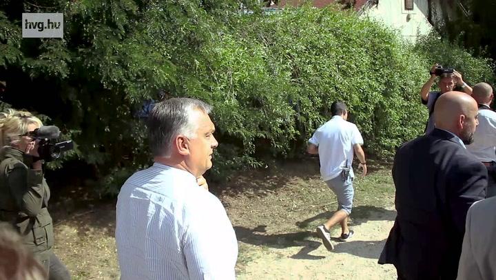 Orbán és a többiek megérkeztek Kötcsére