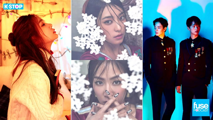Sistar and Giorgio Moroder, VIXX, JeA, What We're Thankful For in 2016 K Pop: K Stop