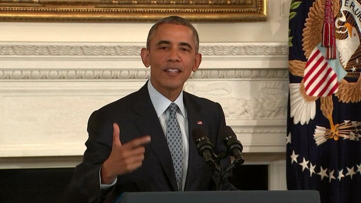 Obama bekritiseert Russische steun aan Assad