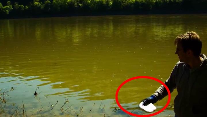 Kaster natrium i elven - sjekk reaksjonen
