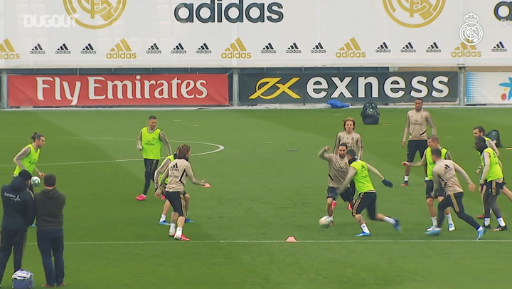 Real Madrid Continue Celta Preparations