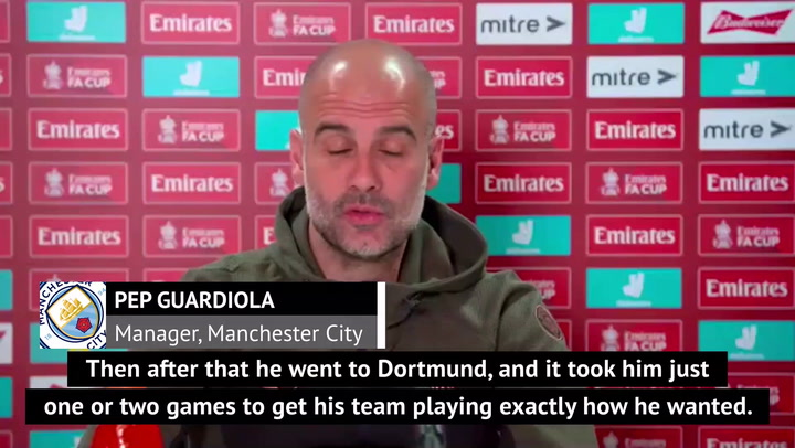 Guardiola 'not surprised' by Tuchel's impact at Chelsea