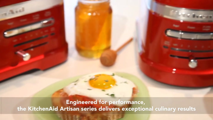 Preview image of Kitchenaid Artisan 2-slot Toaster 5kmt2204 And 4-s video