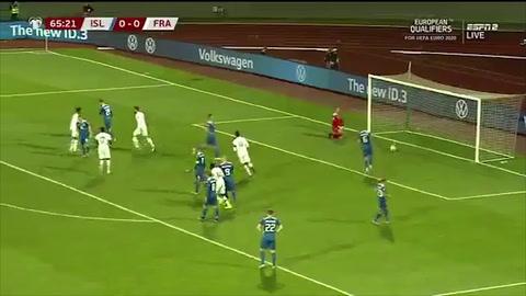 Islandia 0-1 Francia (Eliminatoria Eurocopa 2020)