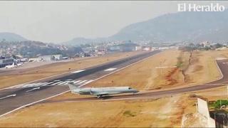 Arriva al Aeropuerto Toncontín los restos mortales del expresidente Callejas