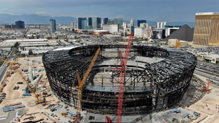Las Vegas Stadium completion one year away