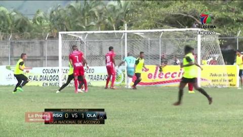 Real Sociedad 0-1 Olancho FC (Liga de Ascenso)