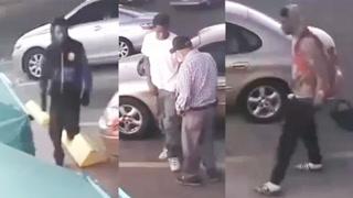 Senior Citizen Carjacking Attack — 3 Suspects Sought