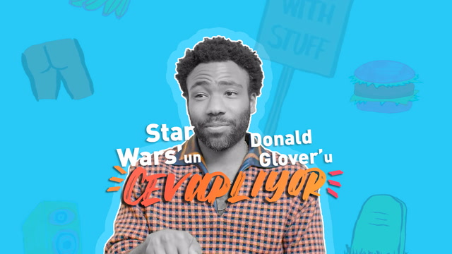 Star Wars'un Donald Glover'ı cevaplıyor