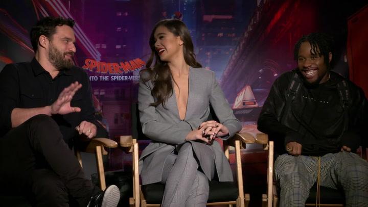 'Spider-Man: Into The Spider-Verse'   Unscripted   Shameik Moore, Hailee Steinfeld, Jake Johnson