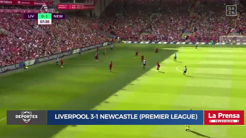 Liverpool 3-1 Newcastle (Premier League)