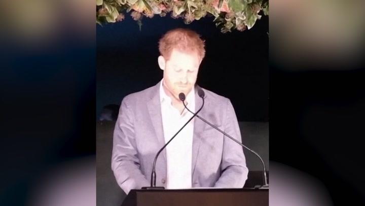Escucha al príncipe Harry en su discurso más trascendental
