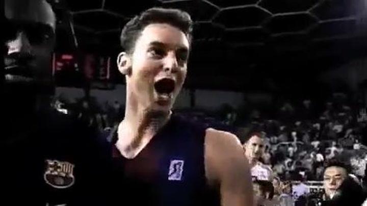 El último partido de Pau Gasol en la ACB... MVP de la final 2001