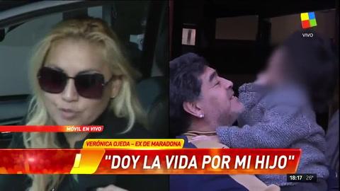 Verónica Ojeda: Maradona es un padre ausente
