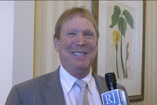 "Mark Davis is ""very optimistic"" that the Raiders will land in Las Vegas"