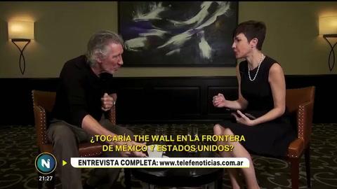 Roger Waters inicia sus shows en la Argentina con su cruzada militante