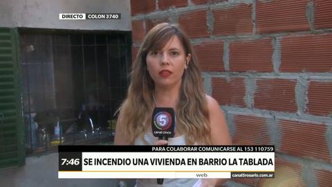 Una familia de barrio Tablada perdió todo al incendiarse la casa