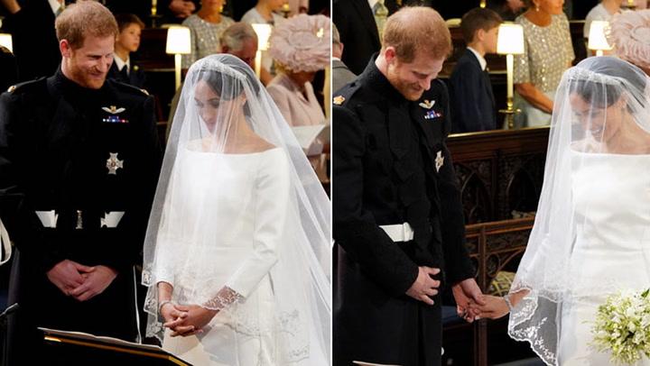 Te descubrimos lo que el príncipe Harry susurró a Meghan en el altar