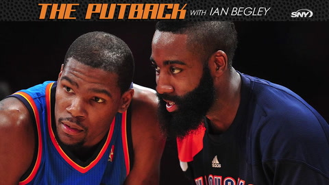 The Putback with Ian Begley: James Harden is Brooklyn-bound... where's Kyrie Irving?