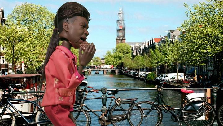 Big Freedia Gets Too High In Amsterdam