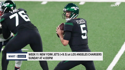 What are the odds on the Jets to beat the Chargers?