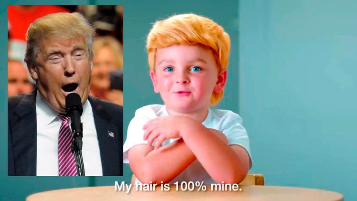 Trumps replikker blir bare sååå søte sagt med barnemunn