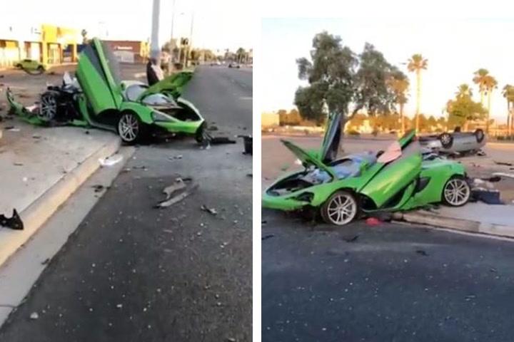 Footage of McLaren Crash – VIDEO | Las Vegas Review-Journal