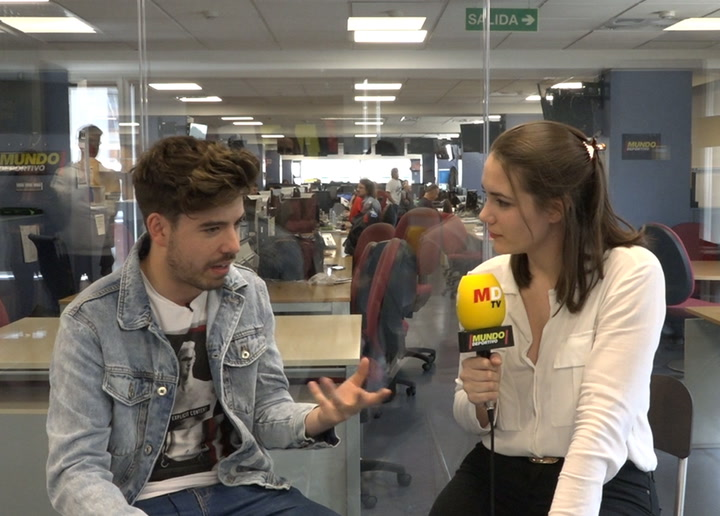 "Entrevista MD a Roi Méndez: ""He aprovechado la exposición de 'OT' para hacer lo que yo quería"""