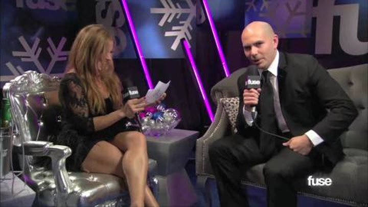 Interviews: Jingle Ball Flashback: Pitbull Interview