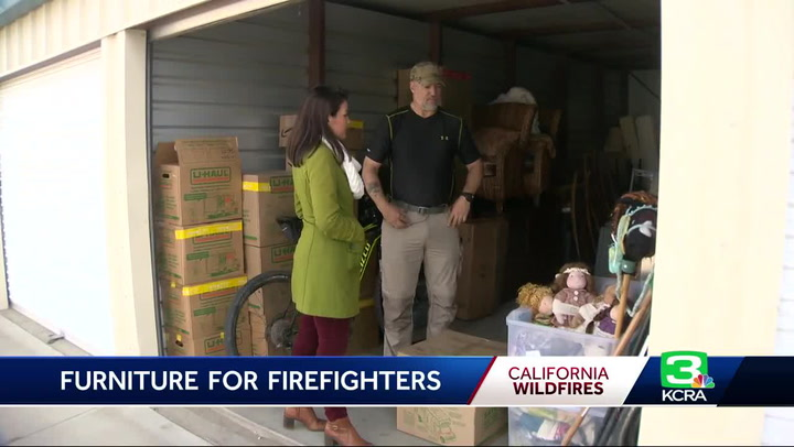 Couple moving out of California donates everything in home to Camp Fire firefighters