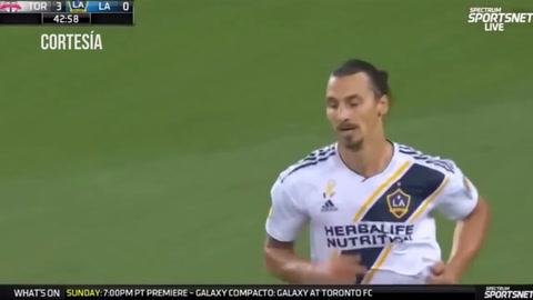 Golazo espectacular de Zlatan Ibrahimovic para la Galaxy
