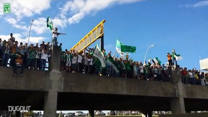 Atlético Nacional's impressive support ahead of 2013 Apertura Final