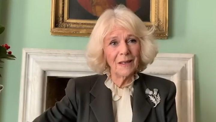 Duchess Camilla reads moving poem to mark Burns Night
