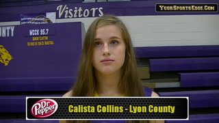 Collins on Providing Inside Game for Lady Lyons