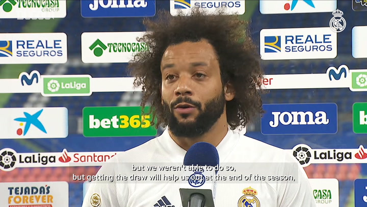 Marcelo: 'We have to keep giving everything'