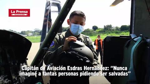 Capitán de Aviación Esdras Hernández
