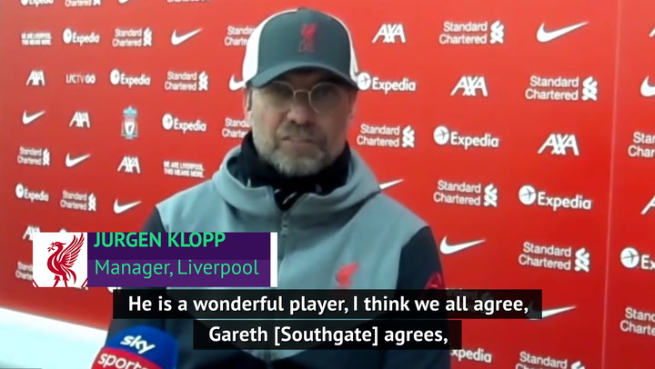 Klopp wants to end the discussion on Alexander-Arnold's place in the England squad.