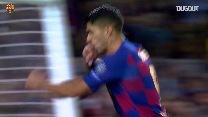 Luis Suarez'in Inter'e Attığı Klas Gol