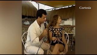 El día que Salvador Nasralla le midió la cintura a Thalía