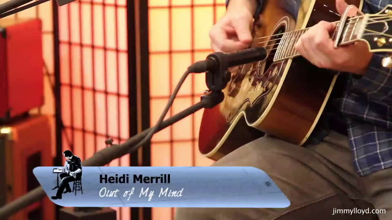 Heidi Merrill performs Out Of My Mind On The Jimmy Lloyd Songwriter Showcase