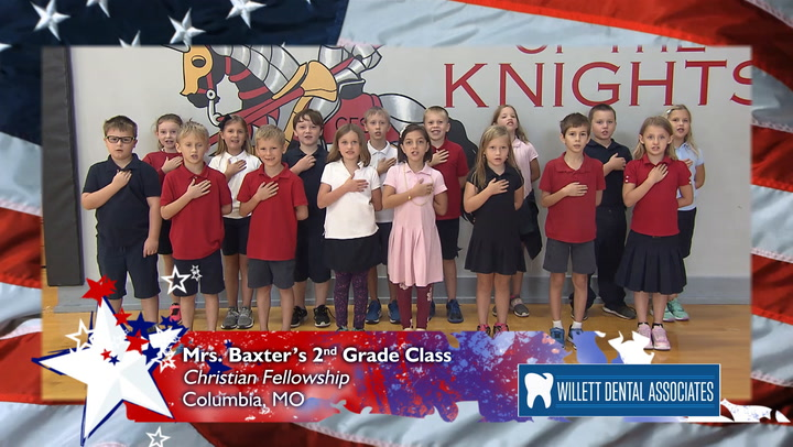 Christian Fellowship - Mrs. Baxter - 2nd Grade