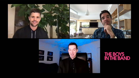 Zachary Quinto & Charlie Carver on 'The Boys in the Band'
