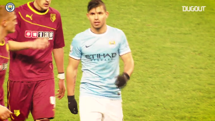 Sergio Aguero's hat-trick inspires comeback Vs Watford